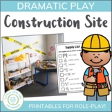 Construction Site Dramatic Play Set