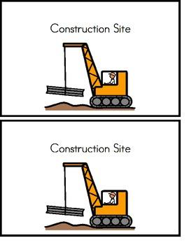 Construction Site Emergent Reader