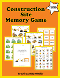 Construction Site Memory Game