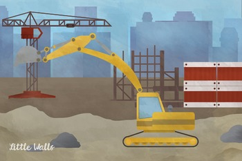 Construction Site Play Banner