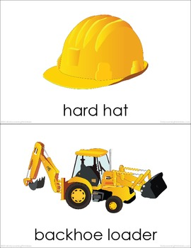 Construction Site (set I) Picture Flashcards