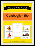 Construction Site (set III) Picture Flashcards