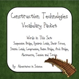 Construction Technologies Vocabulary Packet