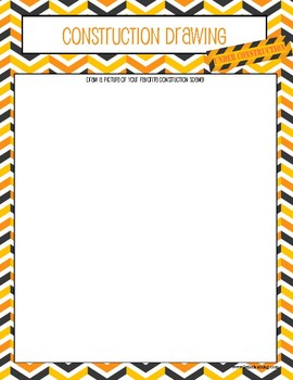 Construction Theme Activity Book
