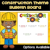 Construction Theme Classroom Decor Bulletin Board