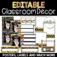 Construction Theme Classroom Decor {EDITABLE}
