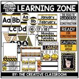 Construction Theme Classroom Decor {EDITABLE}