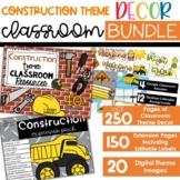 Construction Theme - Complete Classroom Decor BUNDLE