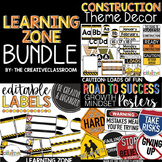 Construction Theme Decor BUNDLE