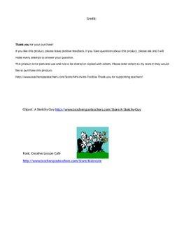 Construction Theme Newsletter - Editable!