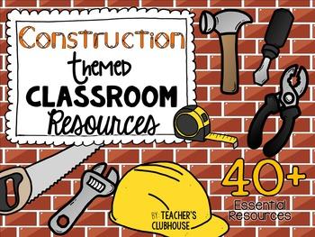 ConstructionTheme Decor Pack