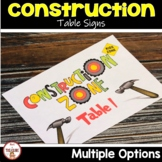 Construction Theme Classroom Decor Room Labels