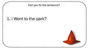 Construction Theme Sentence Correction Cards
