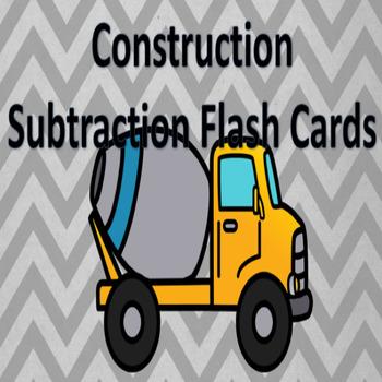 Construction Theme Subtraction Facts