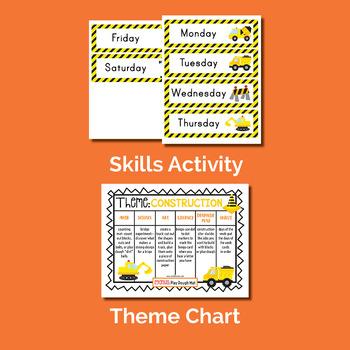 Construction Theme Unit (Preschool or Homeschooling)