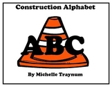 Construction Theme Word Wall Letters