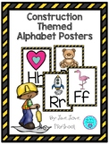 Construction Themed Alphabet Posters