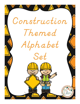 Construction Themed Alphabet Set