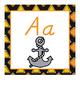 Construction Themed Alphabet Set