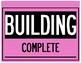 Construction Themed Behavior Clip Chart