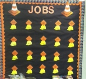 Construction Themed Classroom Jobs