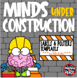 Construction Themed Labels, Signs, and Posters  Templates