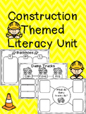 Construction Themed Literacy Unit
