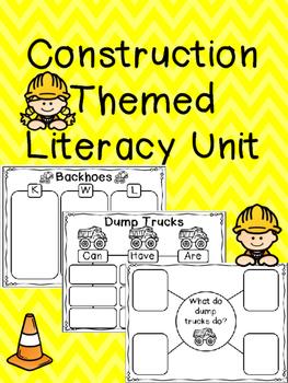 Construction Themed Literacy Unit