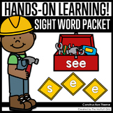 Construction Themed Sight Word Packet