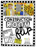 Construction Themed room flip ideas and reading resource kit