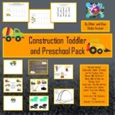 Construction Toddler and Preschool Pack #DistanceLearningTpT