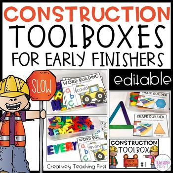 Early Finisher Construction Toolboxes