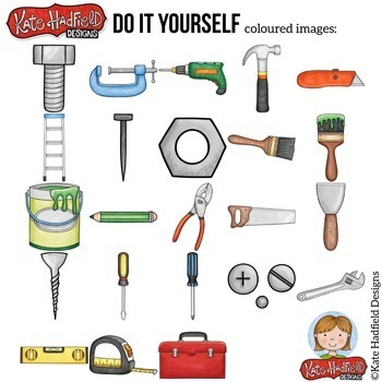 "Construction Tools Clip Art: ""Do It Yourself"""