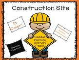 Construction Tools Emergent Reader