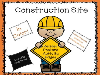 Construction Tools Emergent Reader