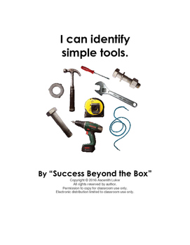 """Construction Tools: """"I can identify simple tools"""""""