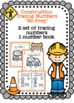 """Construction Tracing Numbers """"No Prep"""""""