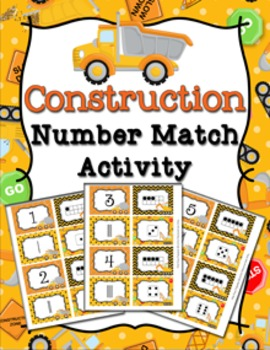 Construction Truck Number Match