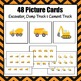 Patterns: Construction Truck Pattern Cards