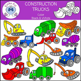Construction Trucks Clip Art