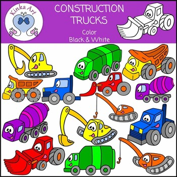 Construction Trucks Clip Art