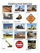 Construction Unit Vocabulary for Preschoolers: Vehicle and