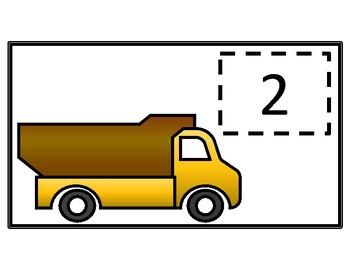 Construction Vehicle Placemats