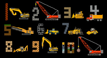 Construction Vehicles Counting - Count to Ten