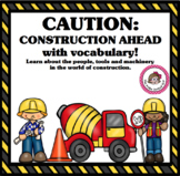 """Speech Language Activities: """"Construction"""" Themed for Little Ones"""
