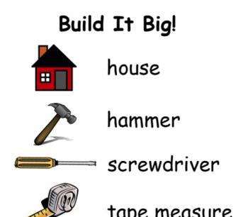 Construction Word List