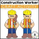 Community Helper Craft {Construction Worker}