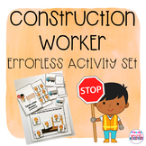 Construction Worker Errorless Activity Set