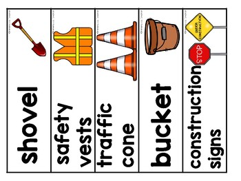 graphic regarding Construction Signs Printable referred to as Composition Staff Thematic Printable Pack