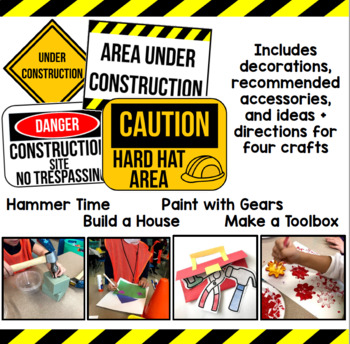 Construction Worker Theme Day Activities